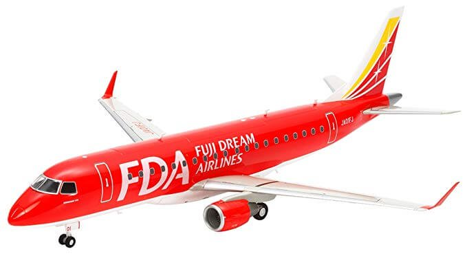 Fuji Dream Airlines orders two E175s
