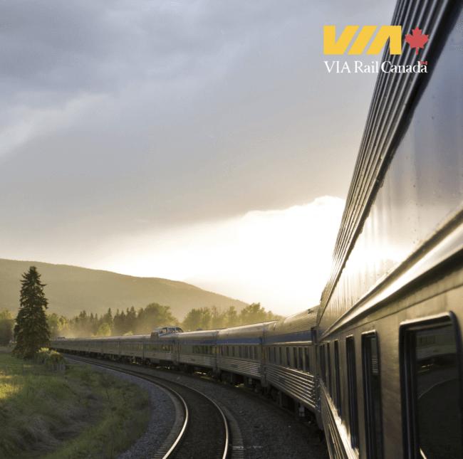 VIA Rail Canada ridership and revenue continue to grow