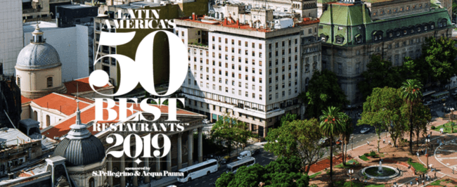 Latin America's 50 best restaurants 2019 will be announced