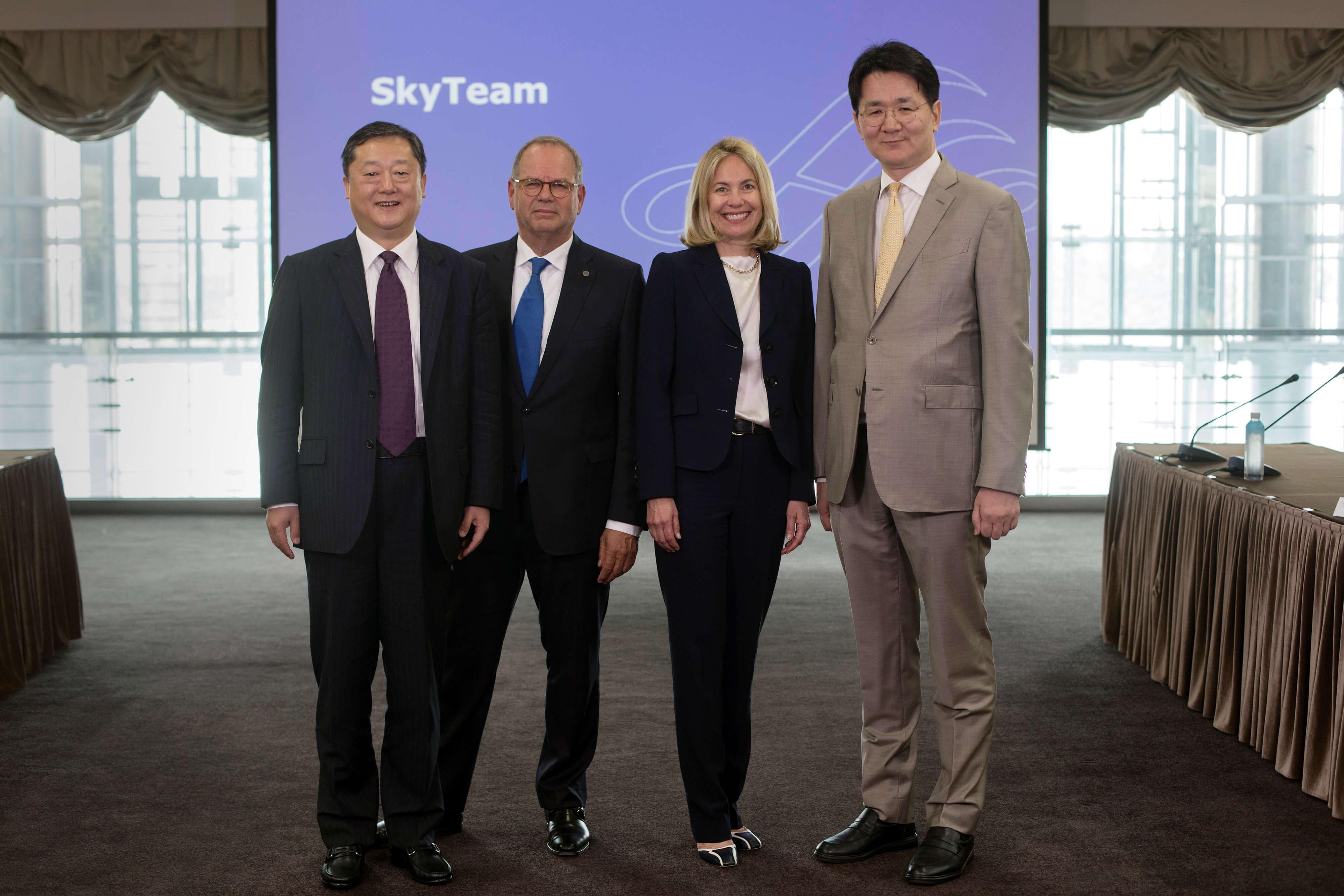 SkyTeam Announces Walter Cho, Chairman and CEO of Korean Air, as Chair of its Alliance Board