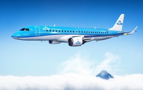 KLM agreed to purchase 35 E195-E2 jets