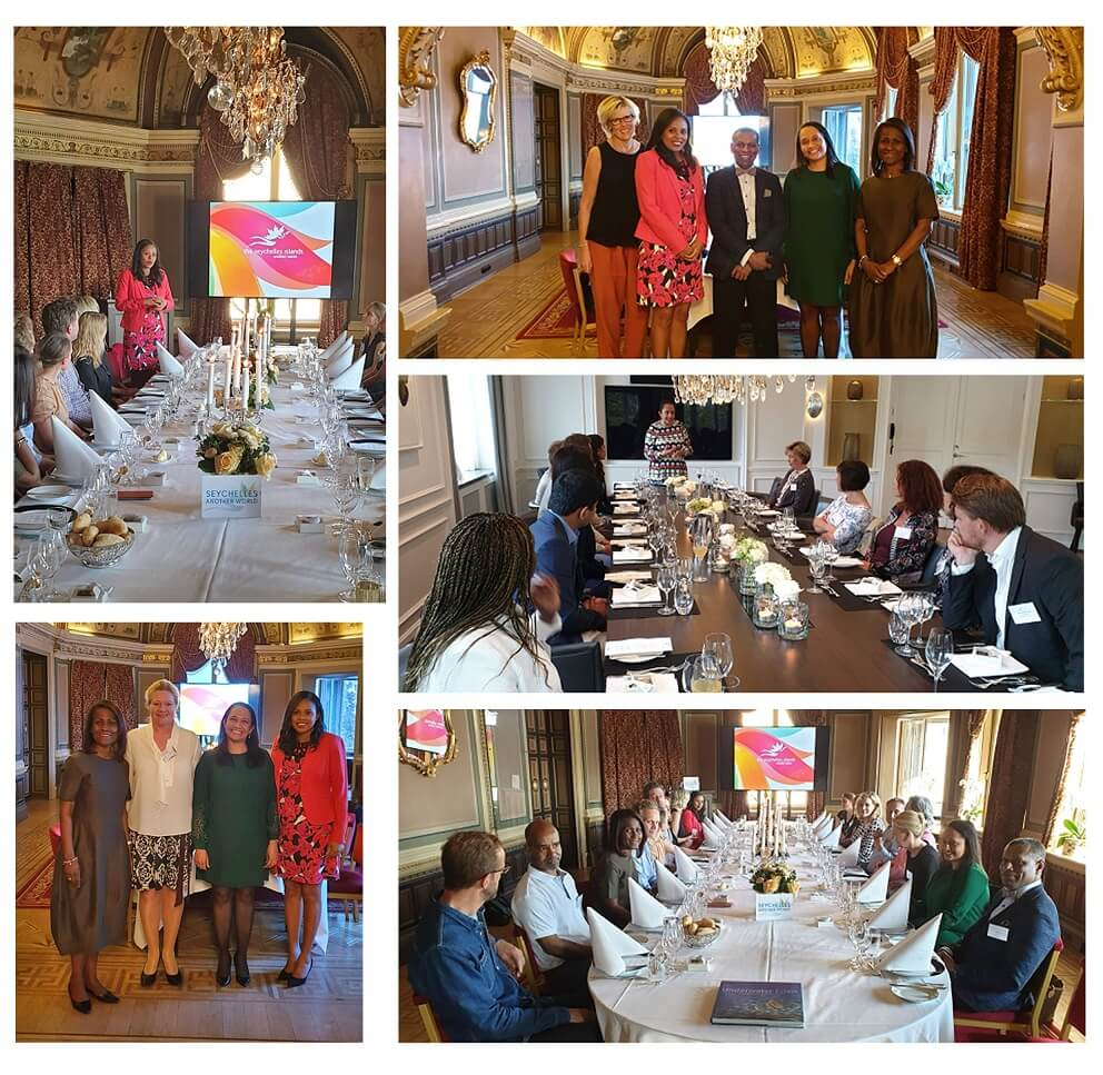 Seychelles Tourism Board Team visited Trade Partners in Scandinavia