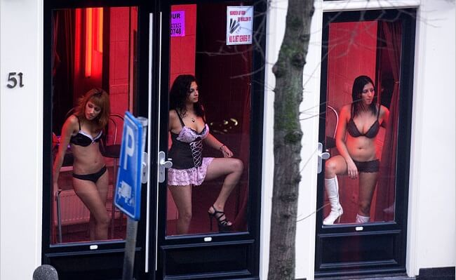 Amsterdam's prostitutes in brothel windows may soon be a thing of the past