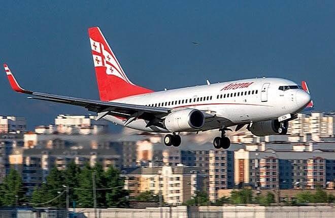Georgian Airways: Russia flight ban cost $25 million so far
