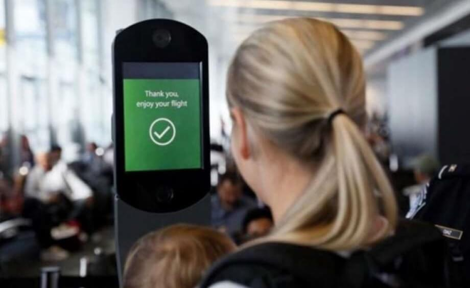 Airline passengers welcome facial recognition technology