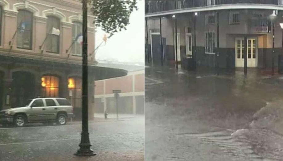 Storm surge watch: New Orleans braces for Tropical Storm Barry