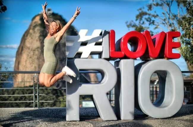 I Love Rio presents great photo opp