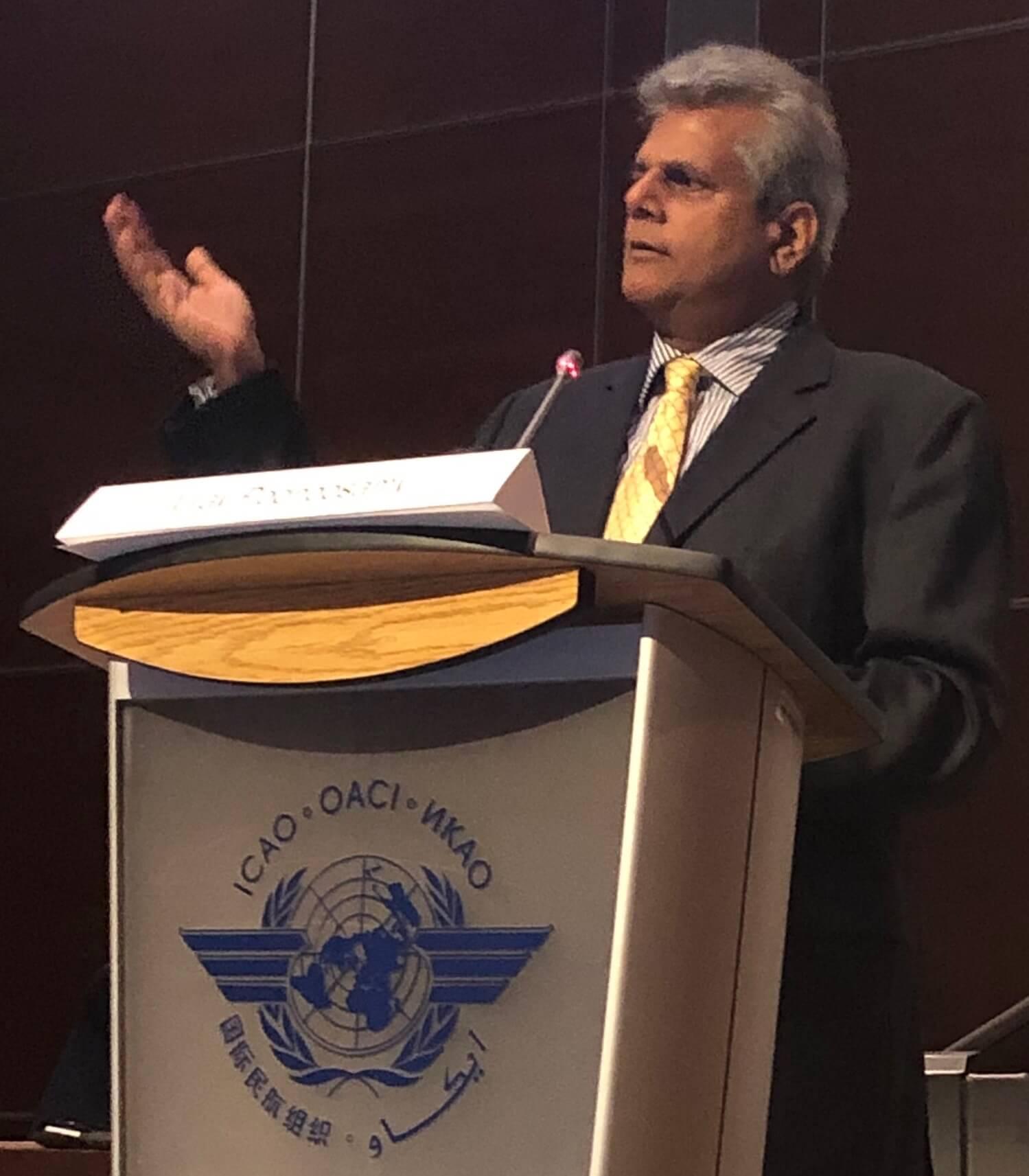 Vijay Poonoosamy at ICAO: Ensuring no country is left behind