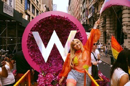 New York City's WorldPride Parade loved out loud with W Hotels