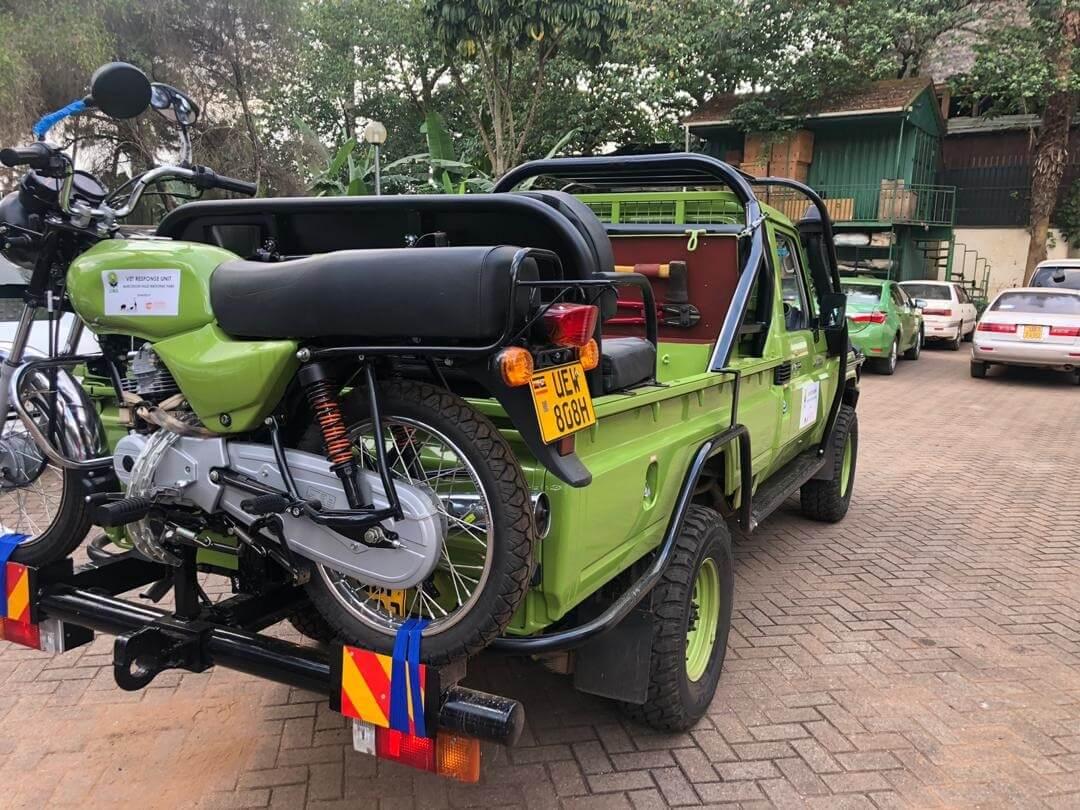 Uganda Conservation Foundation donates vehicles to enhance Uganda Wildlife enforcement in Murchison Falls