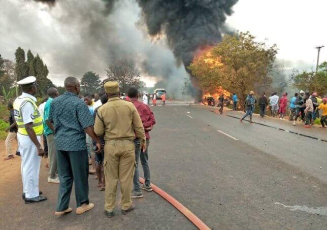 60 people killed, 65 injured in Tanzania tanker explosion