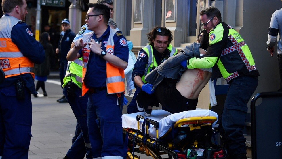 One killed, 2 wounded as man shouting 'Allahu Akbar' goes on stabbing rampage in Sydney