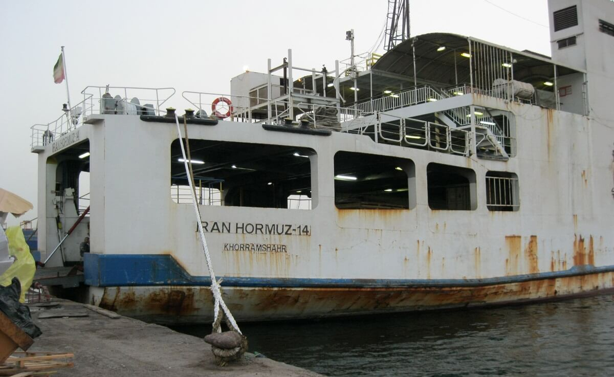 New Caspian Sea ferry service will link Iran and Russia's Dagestan