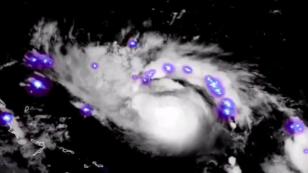 Deadly beauty: Hurricane Dorian 'sparkles' as it approaches US