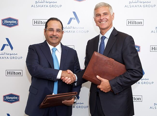 Hilton and Alshaya Group to launch 70 Hampton by Hilton hotels in nine countries