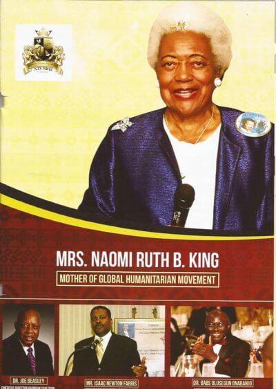 50th Commemorative Memorial Service Held for Rev. A D King at Historic Ebenezer Baptist Church