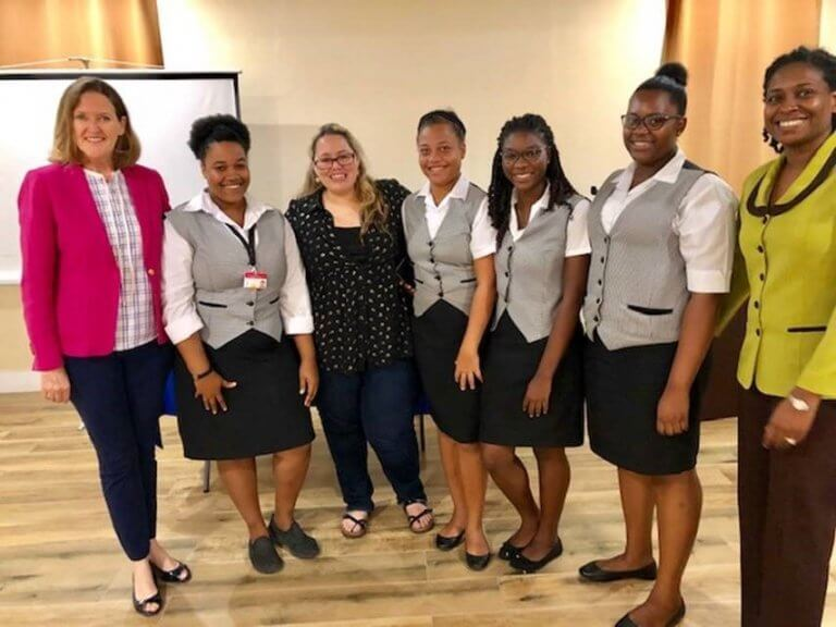 Grenadian tour guides complete phase one of Aquila international certification training