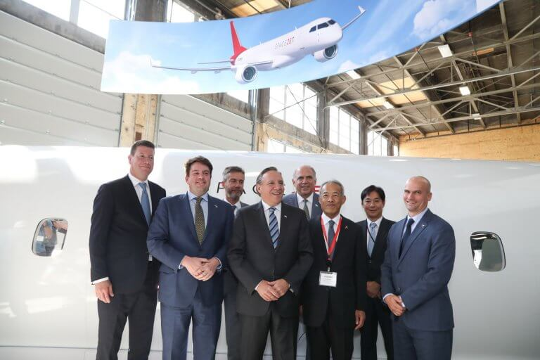 Mitsubishi Aircraft Corporation to open SpaceJet Montreal Center
