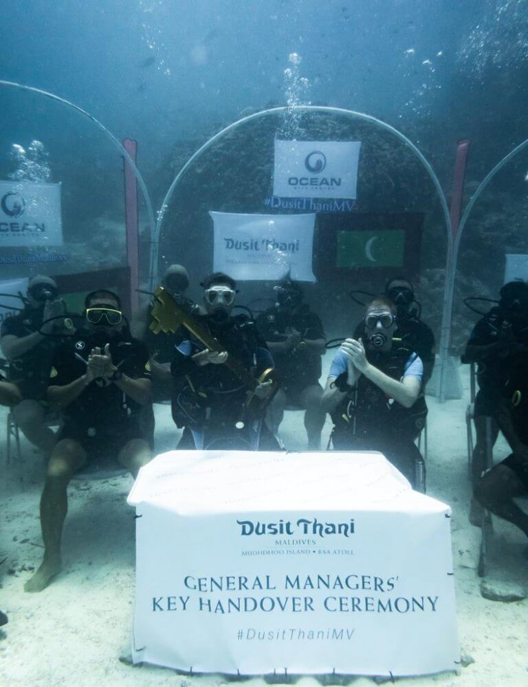 Dusit Thani Maldives appoints a German General Manager