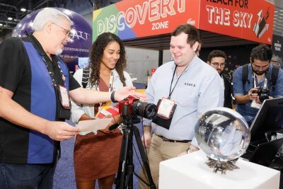 "Discovering the power of ""What if…?"" at IMEX America's new Discovery Zone"