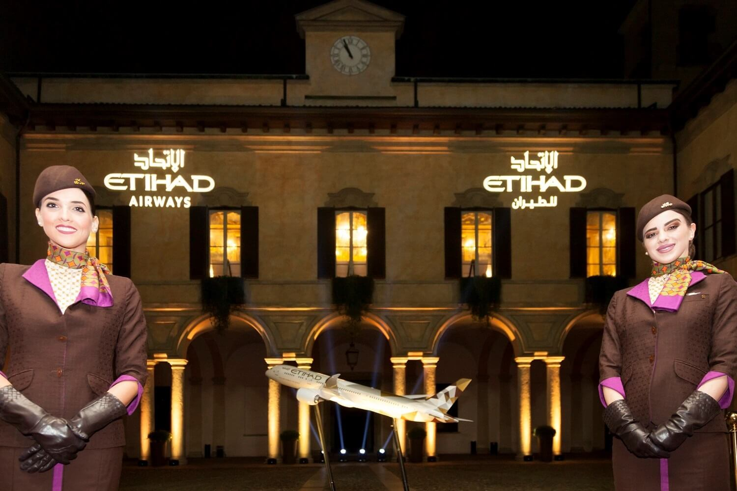 Etihad hosts exclusive event to mark Boeing 787-9 Dreamliner Milan service