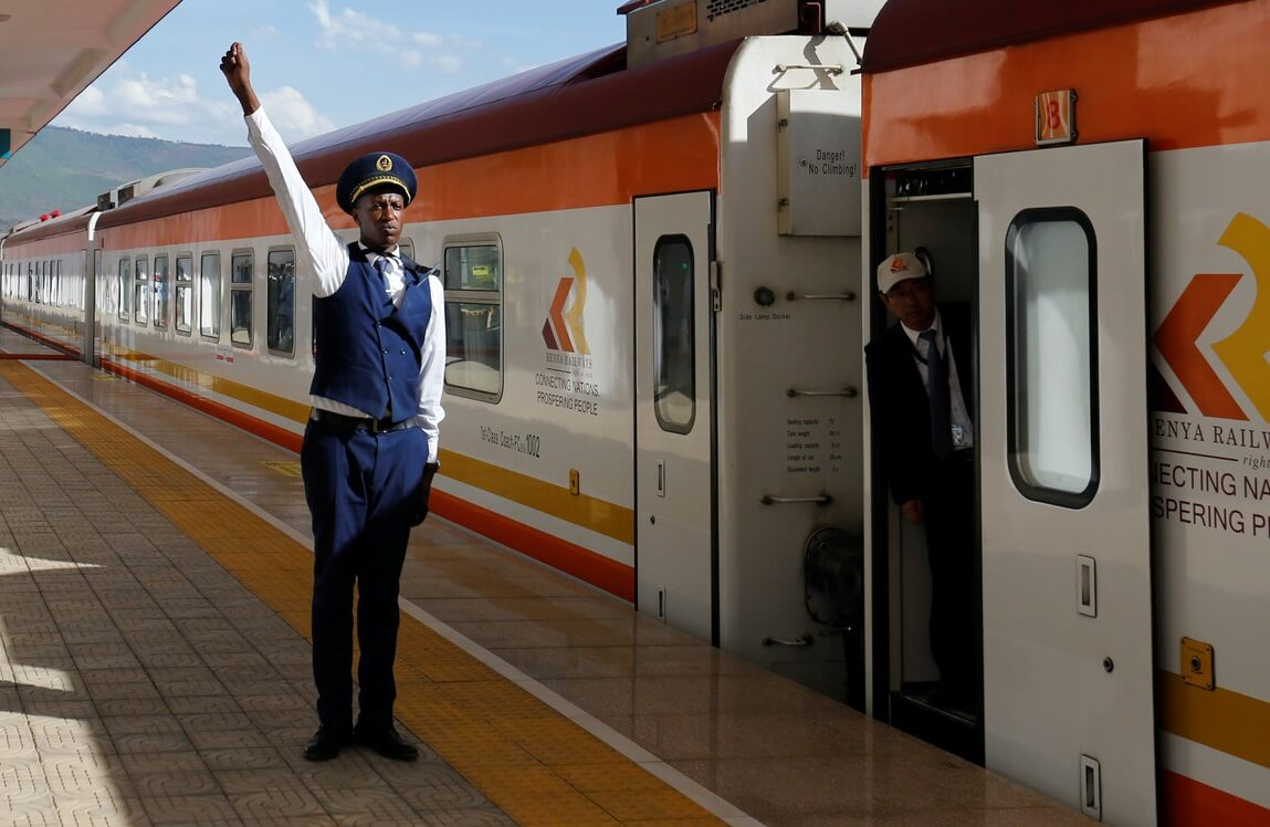 $1.5 billion railway project entirely funded and built by China opens in Kenya