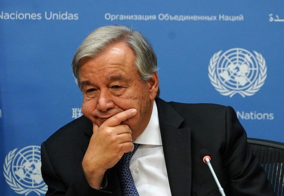 Secretary General Guterres: UN may go bankrupt by end of October