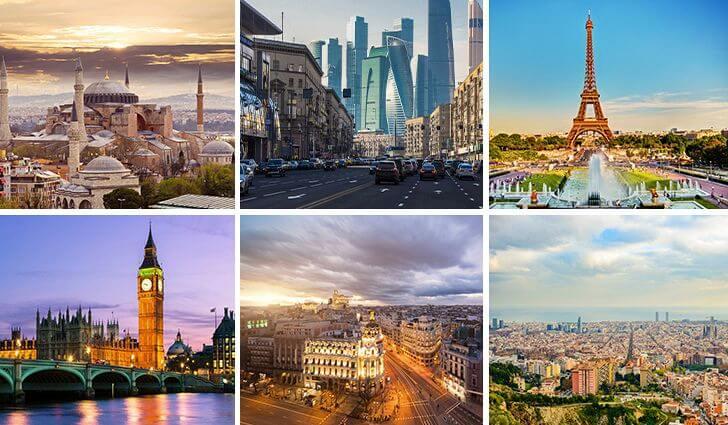 European cities increase air connectivity