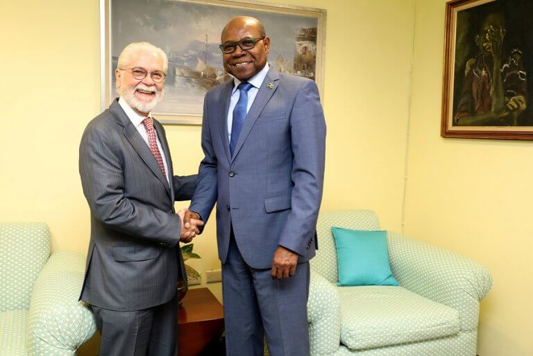 Jamaica Tourism Minister Bartlett Looking to Boost Arrivals from Brazil