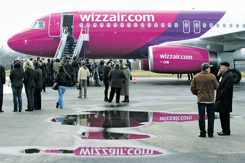 Wizzair pilot: Welcome to Moscow…or Kiev…or something like that
