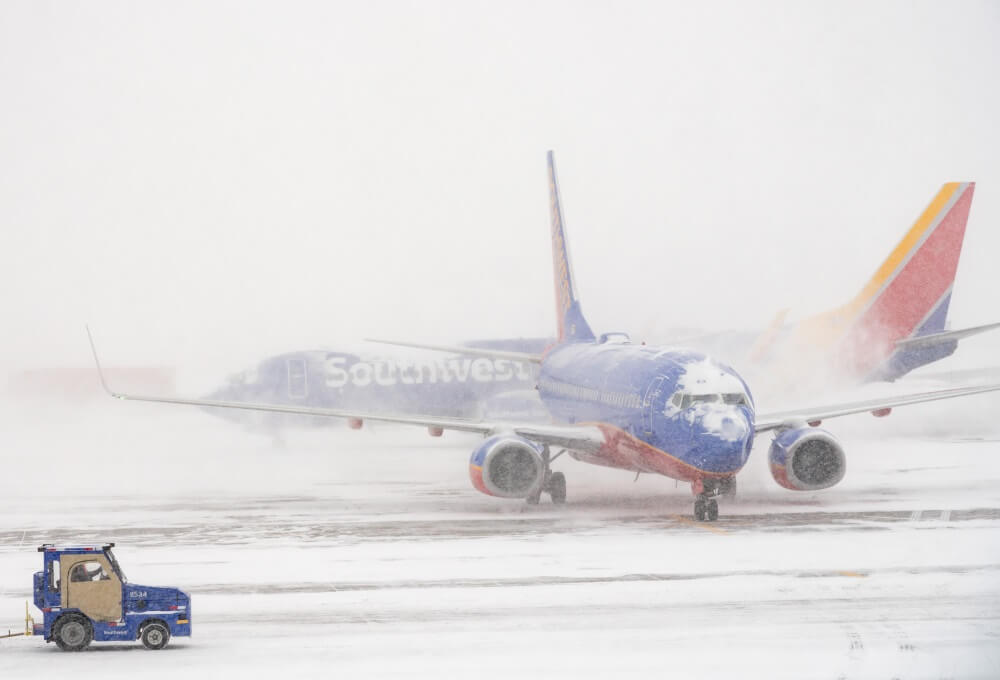Southwest Airlines issues Denver travel advisory