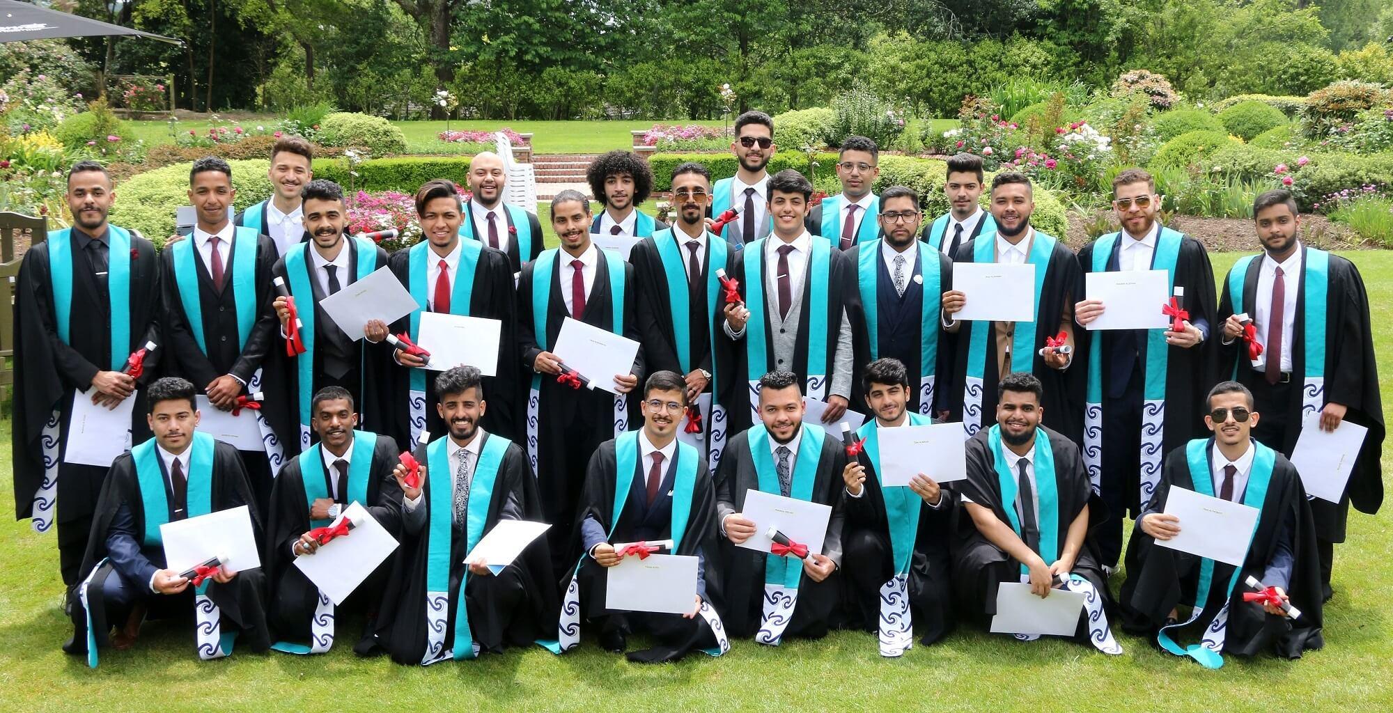 Saudi Arabian students graduate from New Zealand air traffic controllers program