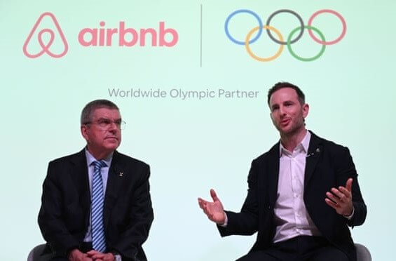 International Olympic Committee goes AIRBNB style