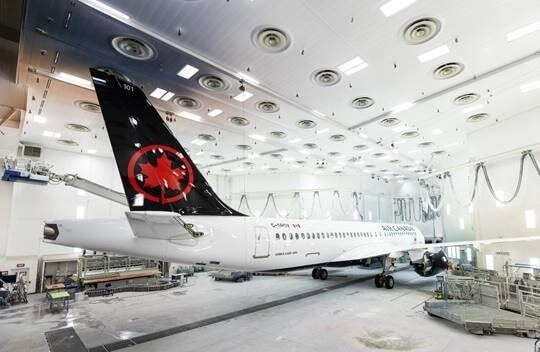 Airbus unveils Air Canada's first A220