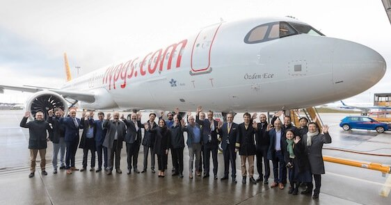 Airbus delivers another A321neo to Pegasus Airlines