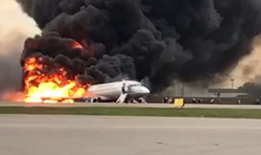 Moscow Superjet aircraft captain charged with fatal crash