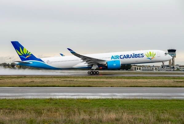 Largest Member of Airbus' New Generation A350XWB Family Delivered to Air Caraibes