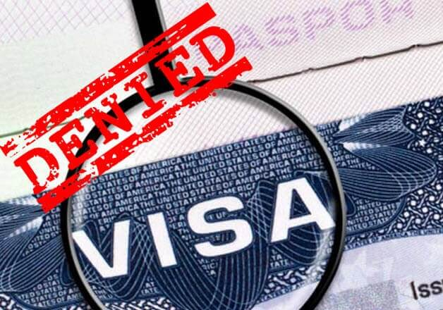 Ukrainians, Palauans, N. Koreans, Libyans and Somalis denied US visas the most