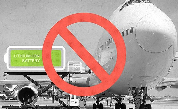 Airline organizations tightening up on lithium batteries in cargo