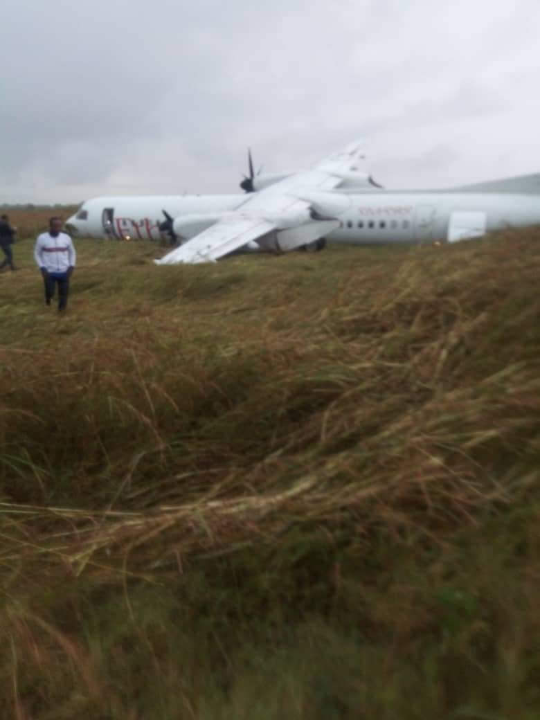 Ethiopian Airlines takes off despite poor visibility and crashes