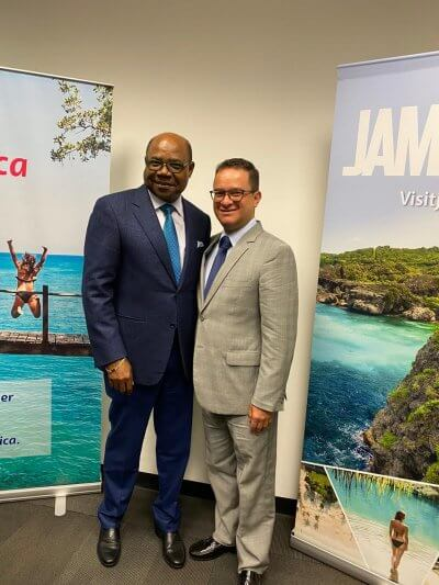 Jamaica now most-connected country from South America