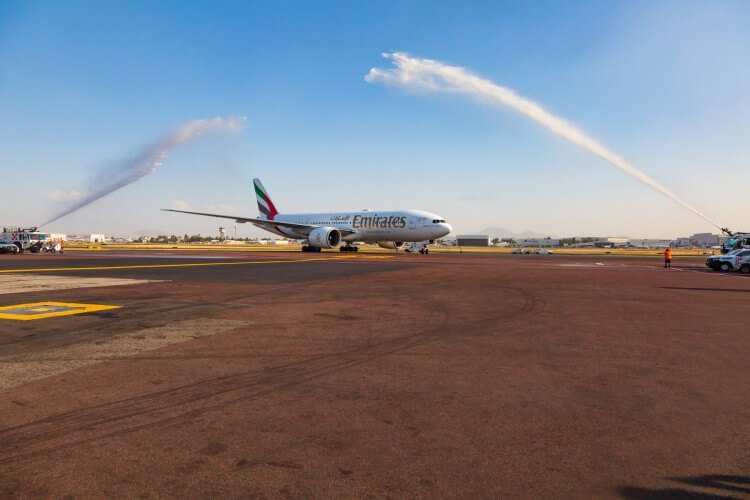 Emirates from Dubai to Mexico: Flying High