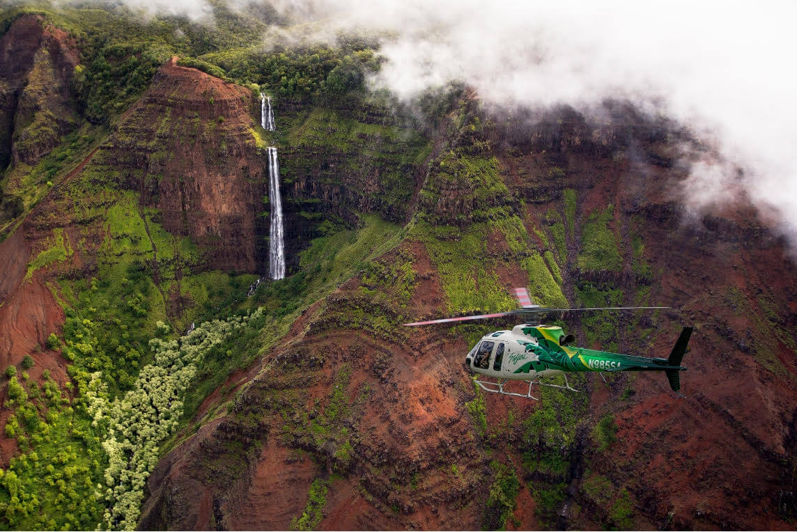 Missing Safari Helicopters Found on Kauai