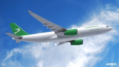 Turkmenistan Airlines places first order with Airbus