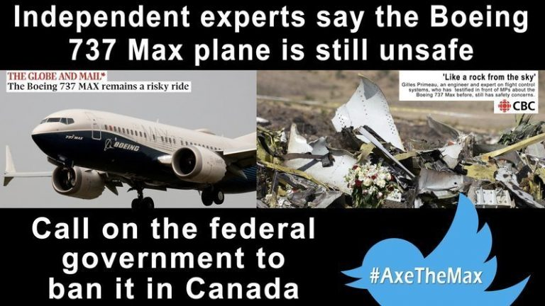 Boeing Max still unsafe, FAA and US Secretary of Transportation knows
