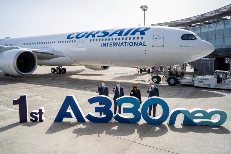 Corsair takes delivery of its first Airbus A330neo