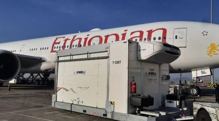 Ethiopian Airlines transports COVID-19 vaccine to São Paulo, Brazil