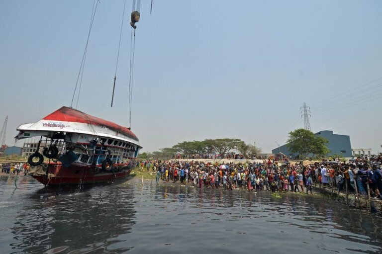 26 people killed in Bangladesh ferry disaster