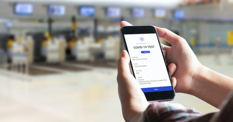 9 out of 10 of travelers would be comfortable using digital health passports