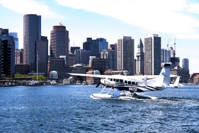 First Ever Seaplane Service Between Boston Harbor and Manhattan Announced